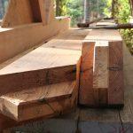 heart pine timbers