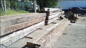 JarmakCorp Saves Wood from Boston Hides and Furs