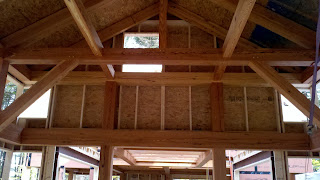 Bensonwood+JarmakCorp= A Fine Antique Timberframe Home