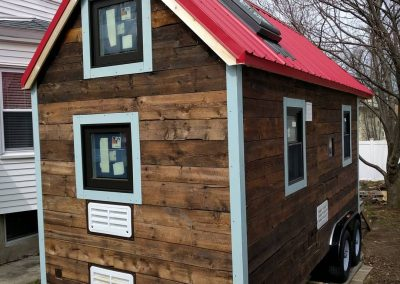 Tiny House Siding