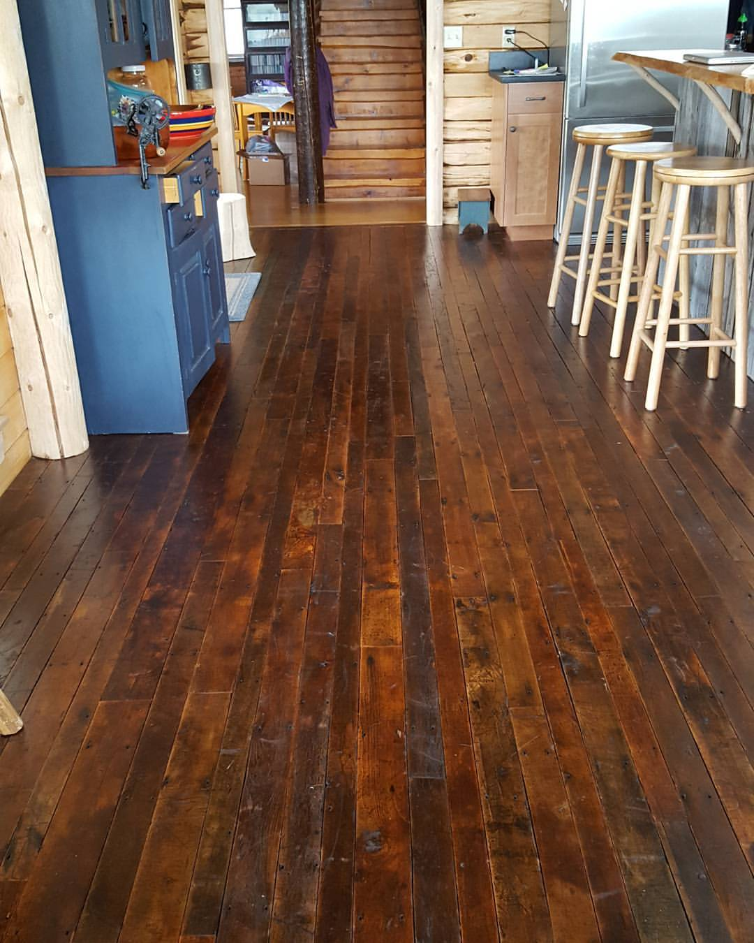 Reclaimed Maple Factory Flooring