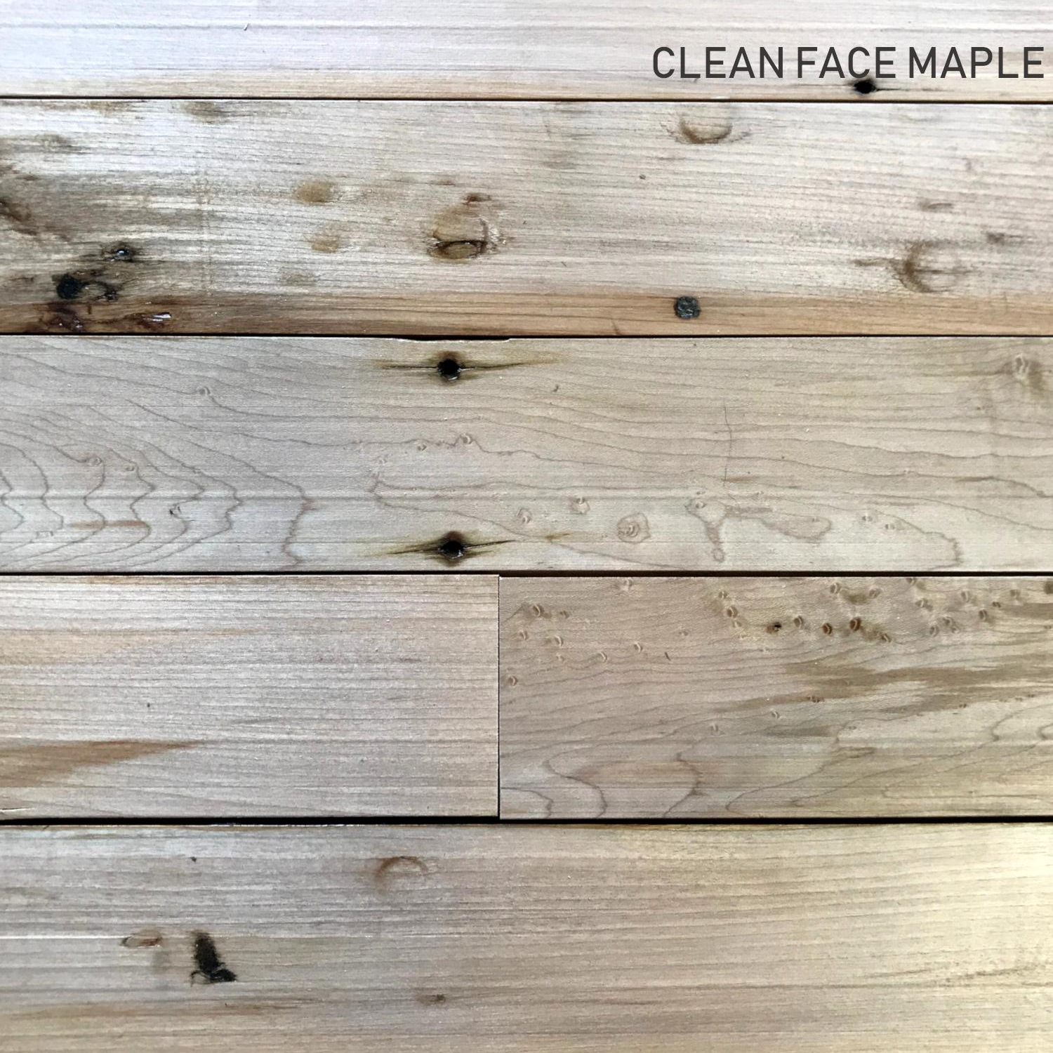Maple Flooring Clean
