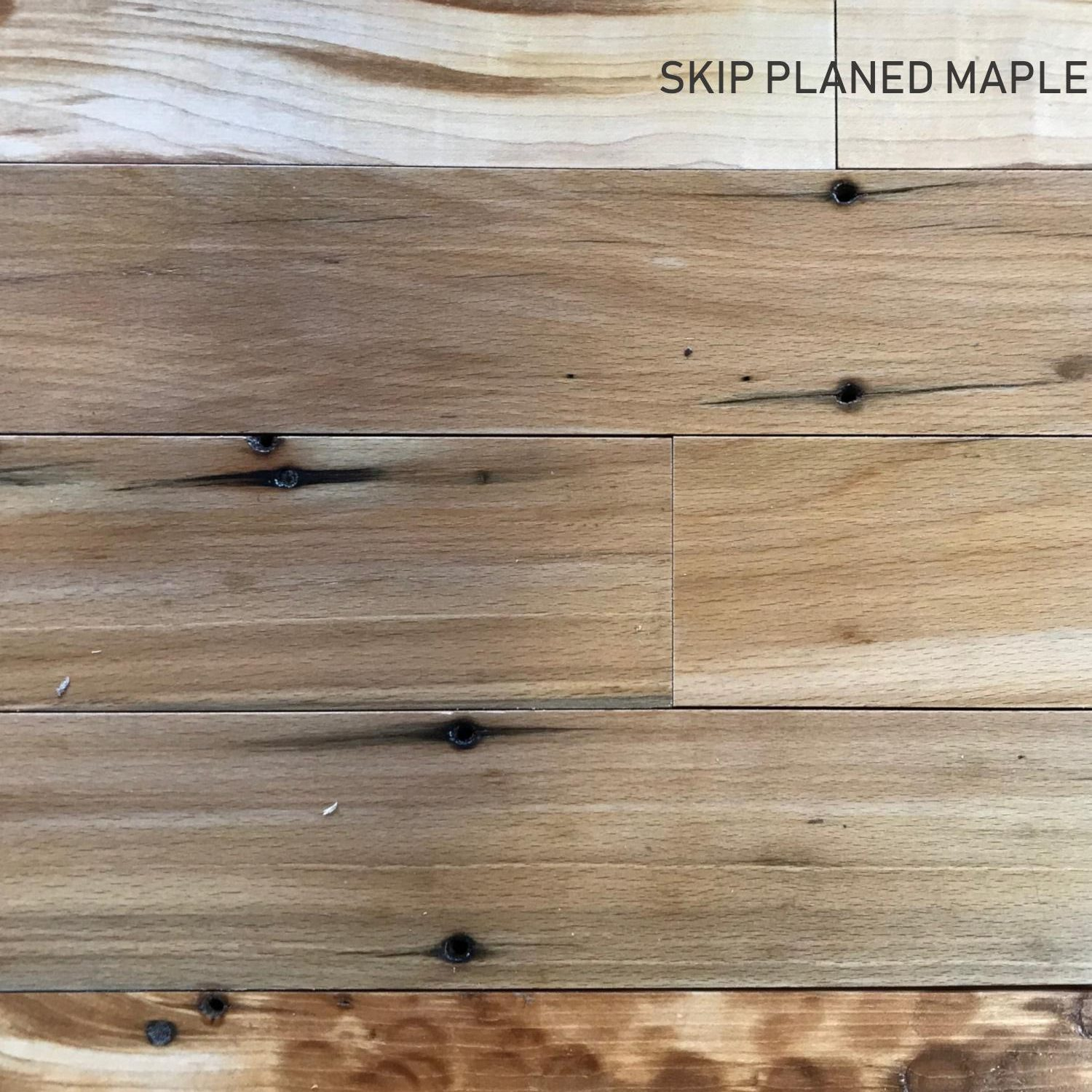 Maple Flooring Skip